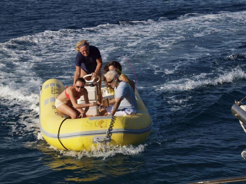 Katamaran segeln luxus  Mallorca auf Luxus Katamaran, Segel- & Tauchurlaub 150-180sm ...